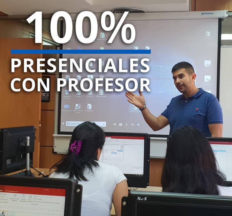 Cursos presenciales de informatica en Madrid